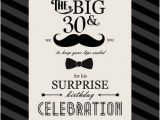 30 Year Old Birthday Gifts for A Man 30th Birthday Invitations for Men Free Invitation