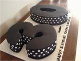 30th Birthday Decorations Black and White Black and White 30th Birthday Cake Cake by Dell Khalil