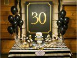 30th Birthday Decorations Black and White Gentleman Party Fotozona Minty Decor Birthday Party
