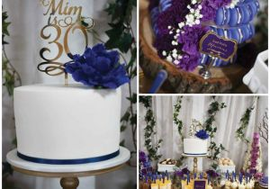 30th Birthday Decorations For Her Kara 39 S Party Ideas Rustic Glam Dessert