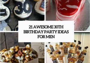 30th Birthday Decorations For Men 21 Awesome Party Ideas Shelterness