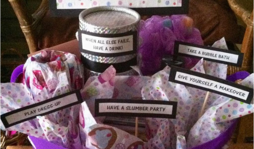 30th Birthday Gift Baskets For Her 26 Best Images About Gifts On