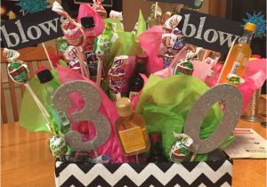 30th Birthday Gift Baskets For Her Like Pinterest 30