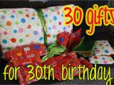 30th Birthday Gift Baskets for Her Love Elizabethany Gift Idea 30 Gifts for 30th Birthday