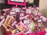 30th Birthday Gift Baskets for Her Turning 30 Birthday Basket Crafts Pinterest 30th