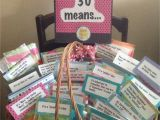 30th Birthday Gift Baskets for Her Turning 30 Gift Basket Gift Baskets Pinterest 30th