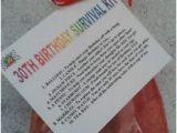 30th Birthday Gift Ideas for Him Diy 30th Birthday Survival Kit Fun Unusual Novelty Present