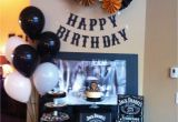 30th Birthday Gift Ideas for Him south Africa Jack Daniels theme for Dad 39 S Surprise 60th Bday Party