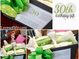 30th Birthday Gifts for Her Ideas Loves Of Life 30th Birthday Gift