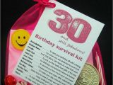 30th Birthday Ideas for Him Ebay 30th 40th 50th 60th Birthday Present Survival Kit