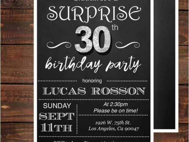 Download By SizeHandphone Tablet Desktop Original Size Back To 30th Birthday Invitations For Men