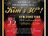 30th Birthday Invites Wording 30th Birthday Invitation Ideas Cimvitation