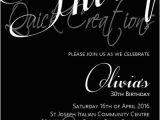 30th Birthday Invites Wording Adult Birthday Invitations Black White 30th Birthday