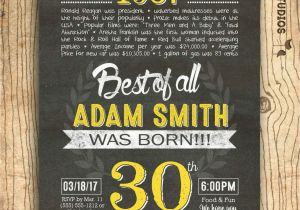 30th Birthday Invites Wording Cool Free Invitation