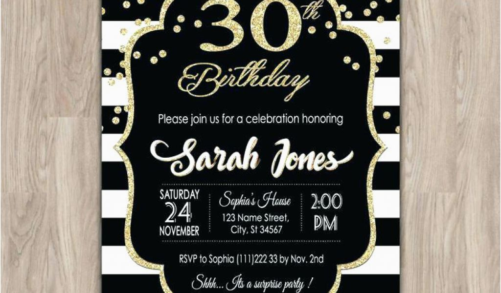 Download By SizeHandphone Tablet Desktop Original Size Back To 30th Birthday Party Invitations For Her