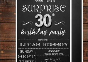 30th Birthday Party Invitations For Her Invitation Templates In Pdf Free Premium