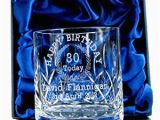 30th Birthday Present Ideas for Him Uk 30th Birthday Whisky Glass for Him Personalised 30th