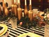 30th Birthday Table Decorations Gold Black and White My 30th Birthday Dinner Party