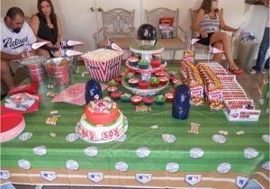 31st Birthday Decorations Baseball Red sox Birthday Party Ideas Photo 6 Of 18