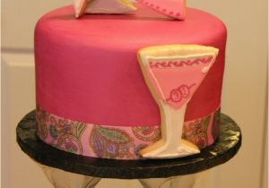 31st Birthday Gift Ideas For Her Pink And Magenta Martini Themed Cake The Client Wanted A