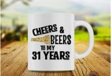 31st Birthday Gift Ideas for Him 31st Birthday Gift Etsy