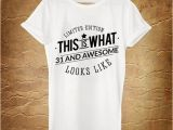 31st Birthday Ideas for Him 31st Birthday Gift Awesome Looks Like 1985 31st by ashbystore