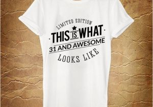 31st Birthday Presents for Him 31st Birthday Gift Awesome Looks Like 1985 31st by ashbystore