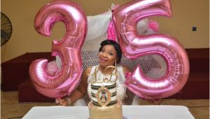 35th Birthday Gift Ideas for Her Laide Bakare Celebrates 35th Birthday In Style In the Us