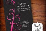 35th Birthday Invitations Items Similar to 35th Birthday Invitation On Etsy