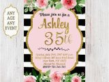 35th Birthday Party Invitations 1000 Ideas About 35th Birthday On Pinterest Happy 30th