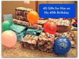 39th Birthday Ideas for Him 40 Gift Ideas for Your Husband 39 S 40th Birthday Special