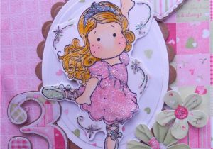 3rd Birthday Card Girl A Little Bit Of Sparkle Little Girls 3rd Birthday Card