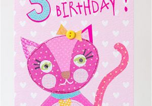 3rd Birthday Card Girl Georgia Breeze Girls Third Birthday Cards Age Birthday