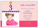 3rd Birthday Invitation Cards Birthday Cake Boy Photo Third Birthday Invitations