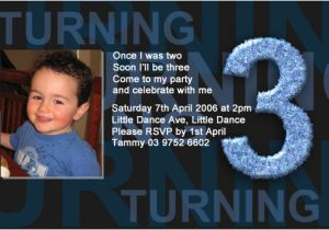 3rd Birthday Invitation Wording Boy Boys 3rd Birthday Party Invitations Boys 3rd Birthday