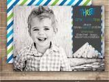 3rd Birthday Invitation Wording Boy Photo Birthday Invitation 1st 2nd 3rd Birthday Invitation