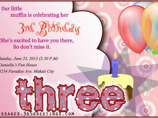 Download By SizeHandphone Tablet Desktop Original Size Back To 3rd Birthday Invites