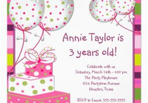 3rd Birthday Invites For Girl Happy Quotes Little Girls Quotesgram