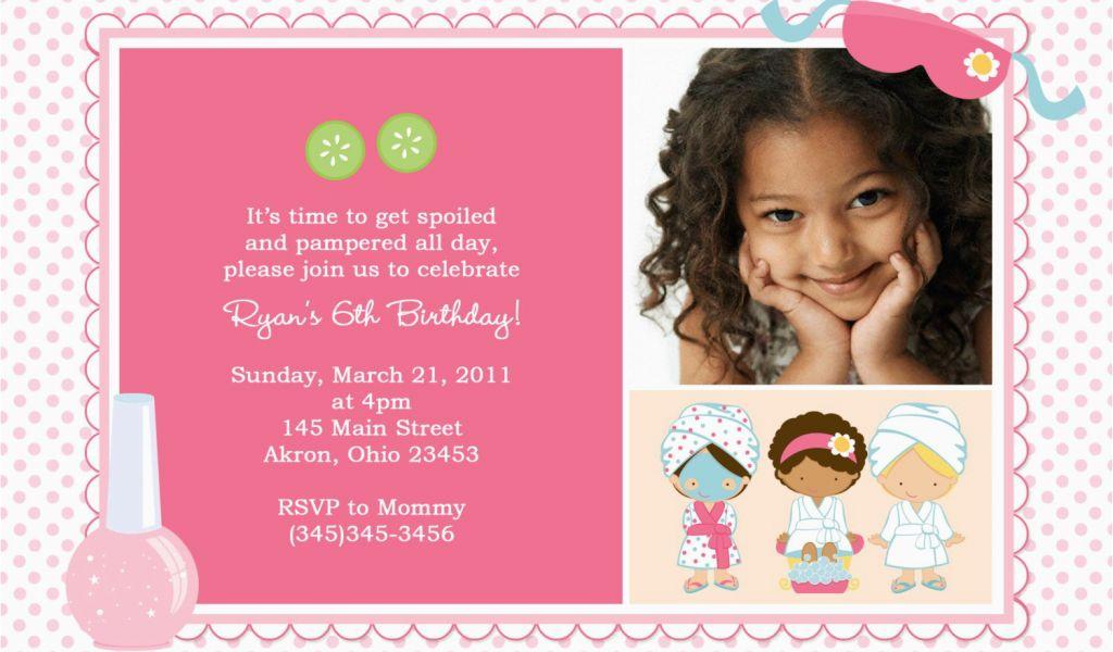 3rd Birthday Party Invitation Message Third Birthday Invitation