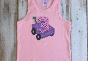 3t Birthday Girl Shirt Girls 3rd Birthday Shirt Girls Size 3t Tank top by
