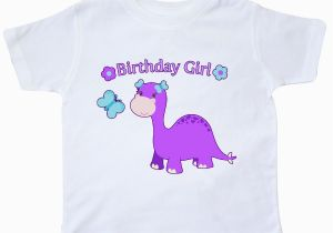 3t Birthday Girl Shirt Inktastic Birthday Girl Cute Dinosaur toddler T Shirt