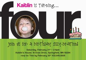 4 Year Old Birthday Invitation Wording 4 Year Old Birthday Invitation Wording Best Party Ideas