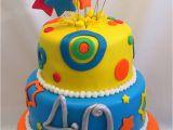 40 Birthday Cake Decorations 40 Birthday Fondant Cake