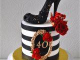 40 Birthday Cake Decorations 40th Birthday Cake Cakecentral Com