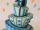 40 Birthday Cake Decorations Birthday Cakes Walah Walah