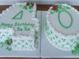 40 Birthday Cake Decorations Funny 40th Birthday Cakes for Men