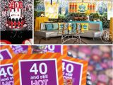 40 Birthday Decoration Ideas 10 Amazing 40th Birthday Party Ideas for Men and Women