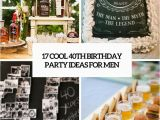 40 Birthday Decoration Ideas 17 Cool 40th Birthday Party Ideas for Men Shelterness