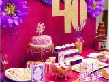 40 Birthday Decoration Ideas 40 Again 40th Birthday Party Celebration Dime Party Diva