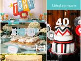40 Birthday Decoration Ideas 40th Birthday Party Ideas Backyard Table Decorating Ideas